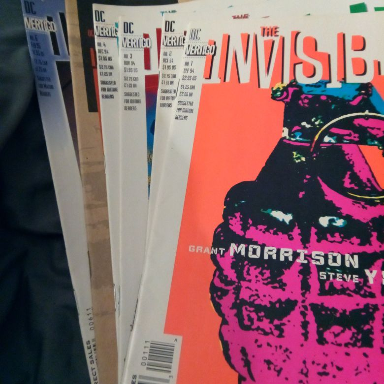 The Invisibles #1 - 6