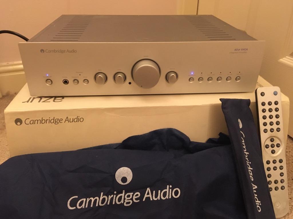 Cambridge Audio Azur 640 A amplifier