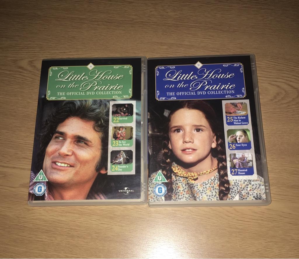 Little House on the Prairie DVD 8 & 9