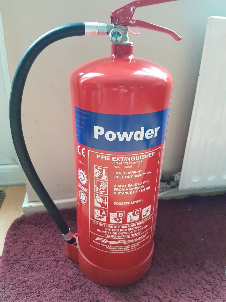 Powder Fire Extinguisher 9kg