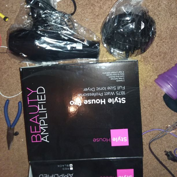 Beauty Amplified professional hair dryer