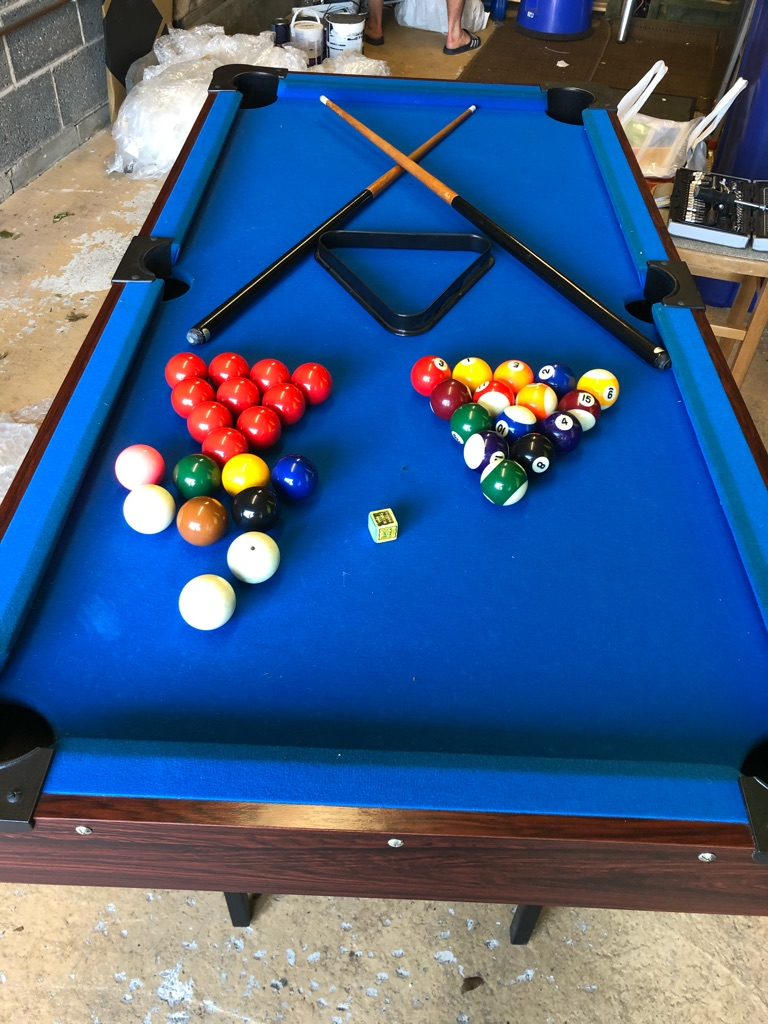 Child pool table