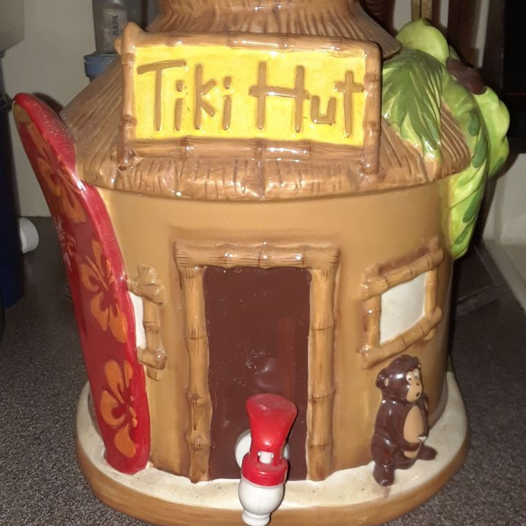 Tiki Hut hand-painted 2007 sold at Target