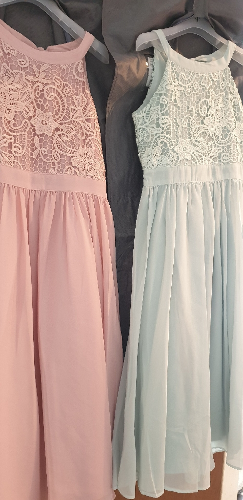 3 x bridesmaid dresses