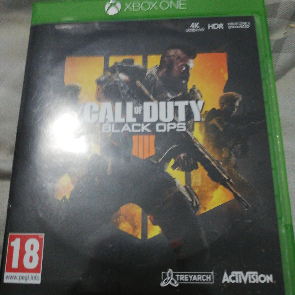 Black ops 4 Xbox one . Second hand used