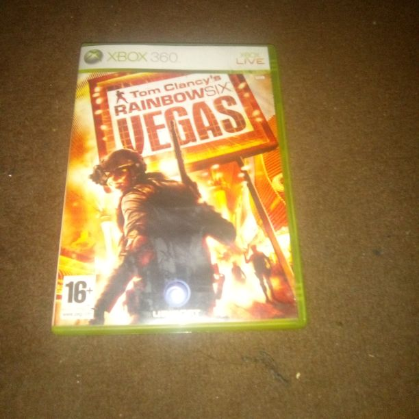Xbox 360 tom Clancy's rainbow six Vegas