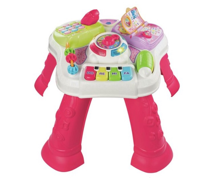 VTech Learning Activity Table Pink