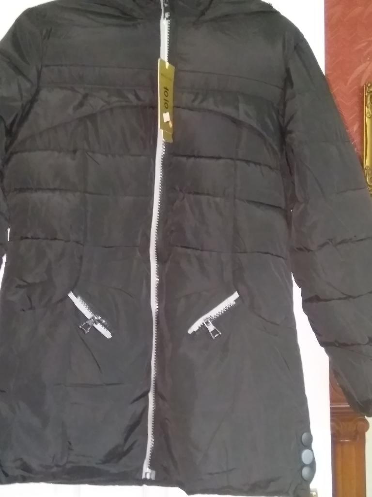 Ladies black Jacket size 12-14