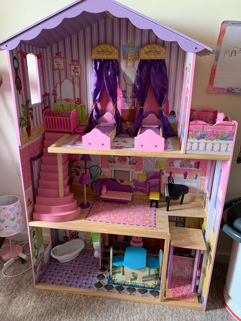 Kidkraft My Dream Mansion Dolls House; excellent condition
