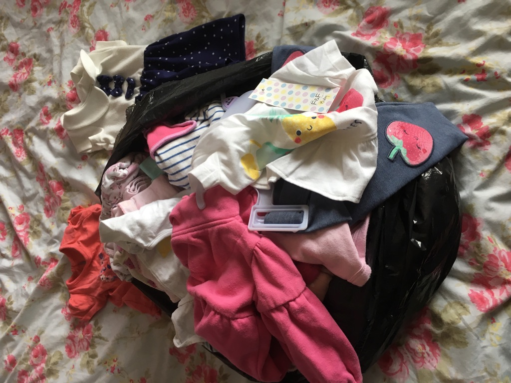 Bundle of girls clothes 0-3 upto 6-9 Months