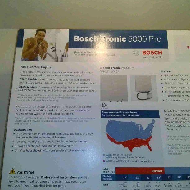BOSH tronic 5000 Pro