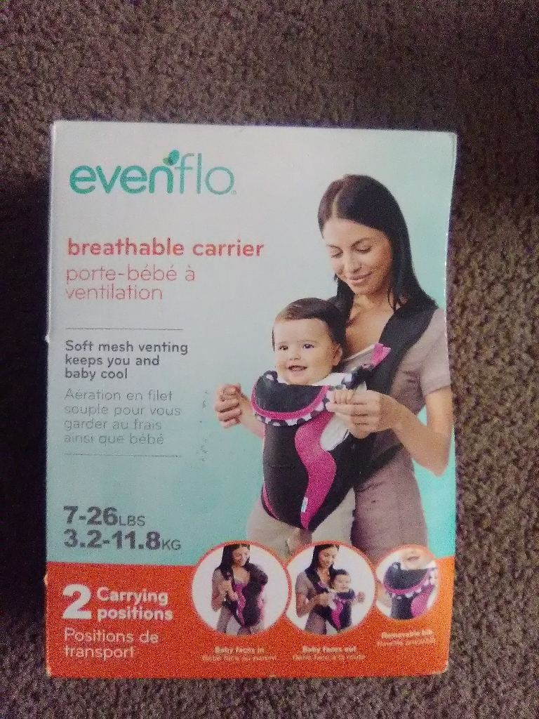 Evenflo Breathable Mesh Baby Carrier