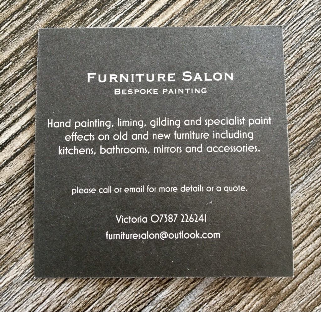 Hand painting furniture service