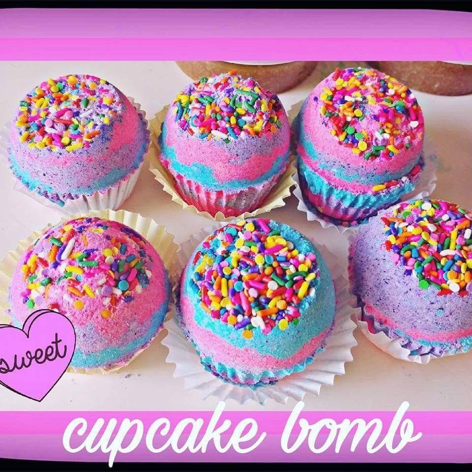 Cup cake bombs