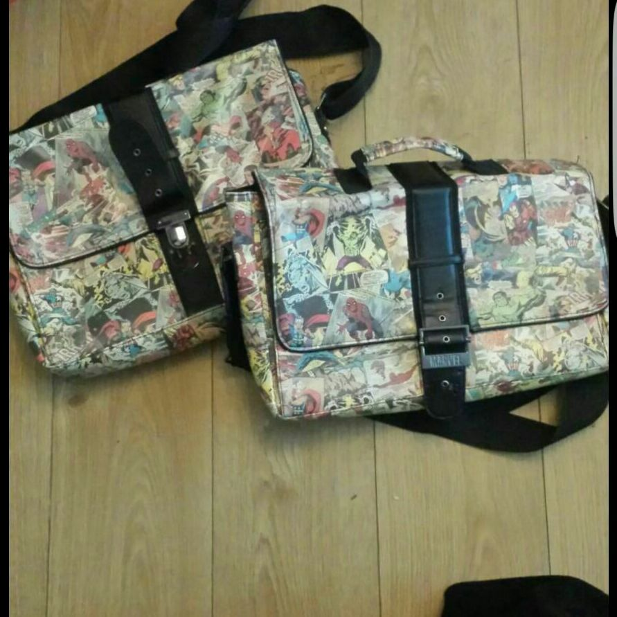 Marvel retro bags