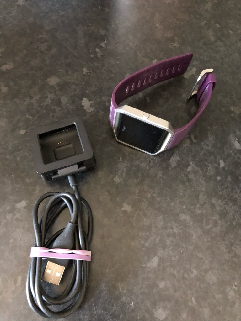 Fitbit Blaze Smart Watch - barely used