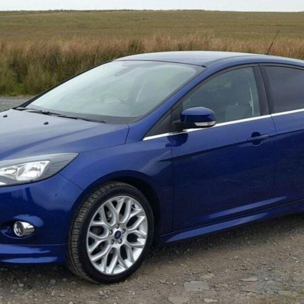 Ford focus zetec s 1.6 tdci 64 plate