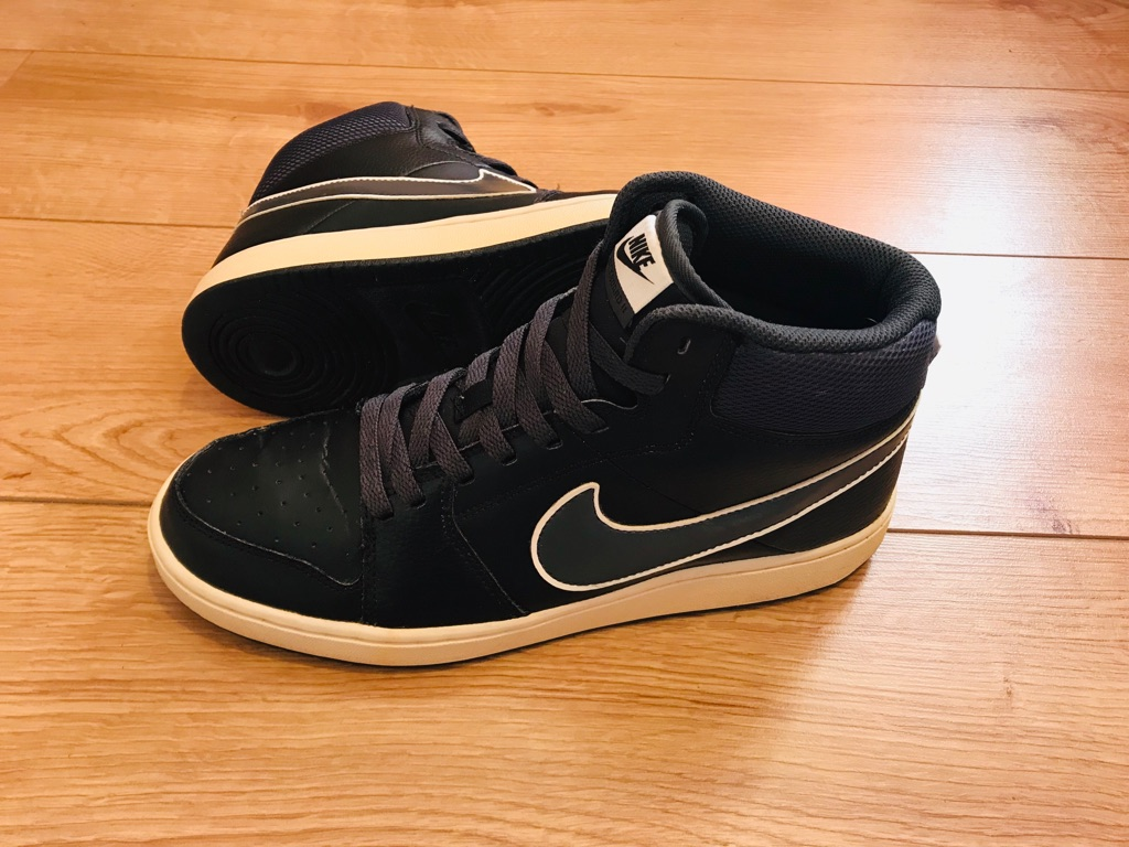 Leather Nike snickers