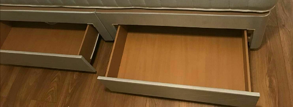 Brand new Double base with 2 drawers
