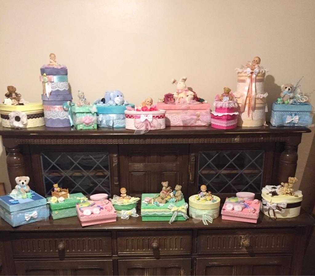 Baby/memory/gift boxes keepsake