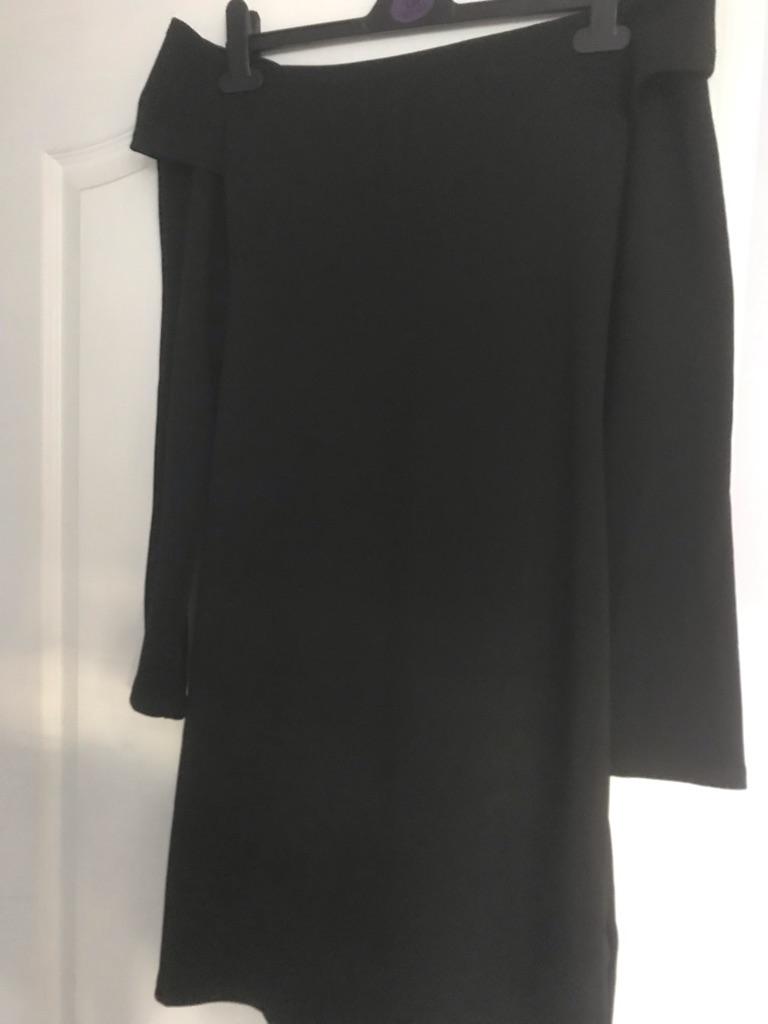 Black Fashion Union Dress