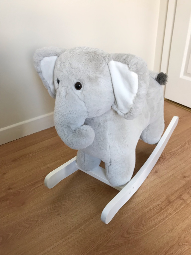 Elephant Rocker toy