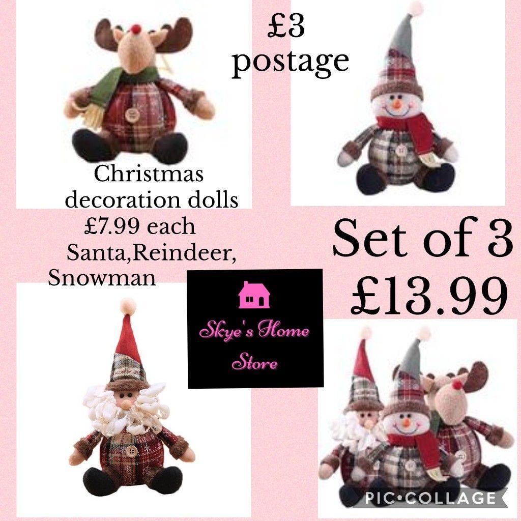 Christmas decoration dolls