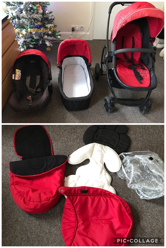 Travel system 3 in 1
