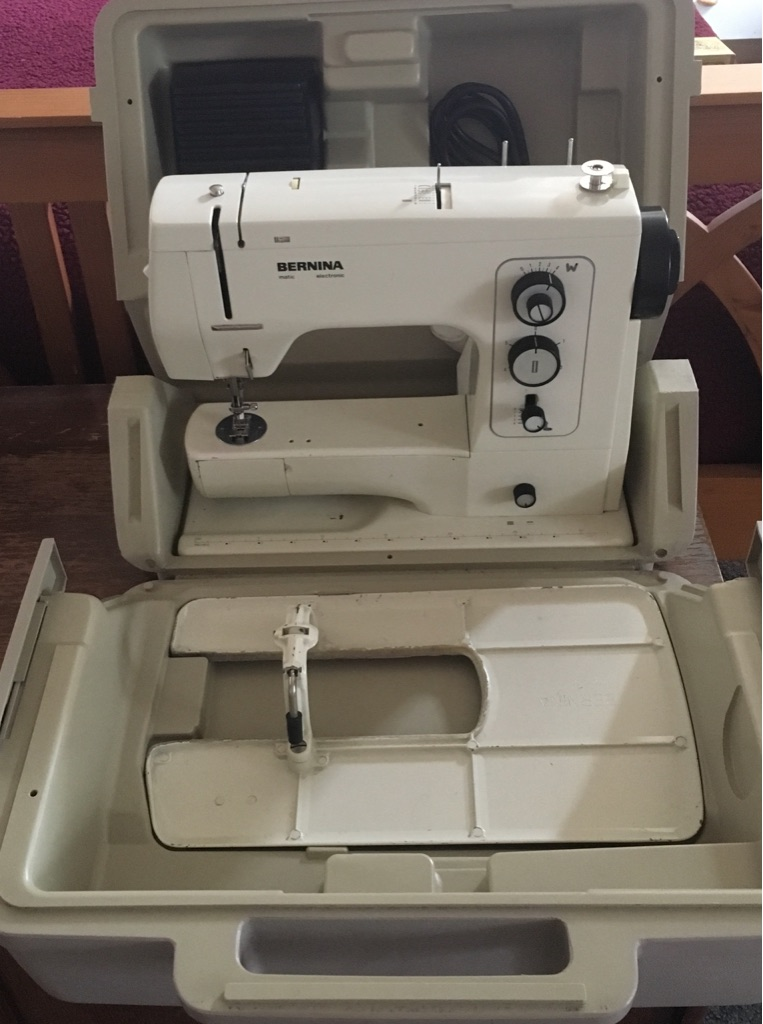 Bernina Vintage Sewing Machine + Accessories