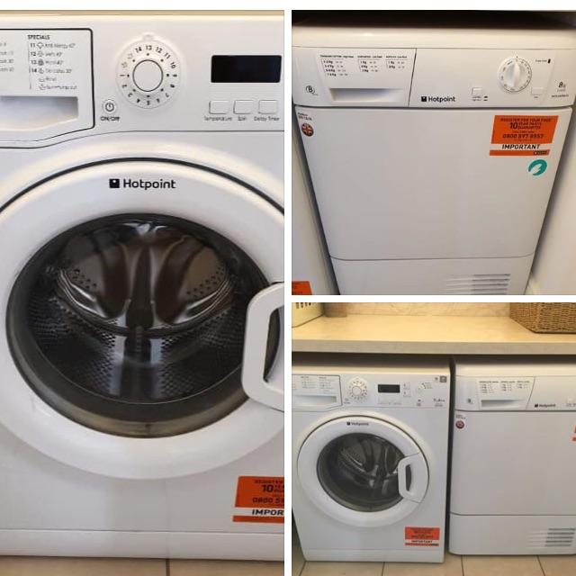 Hotpoint washer & dryer