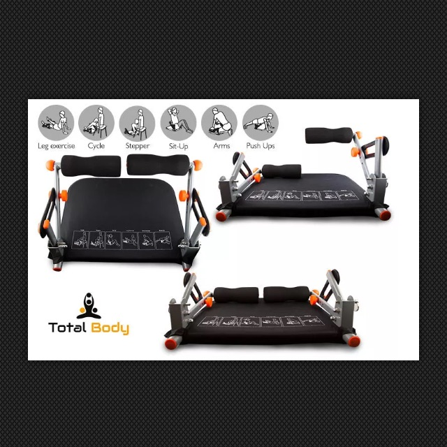 KEQU TOTAL BODY EXERCISE SYSTEM (Brand New)