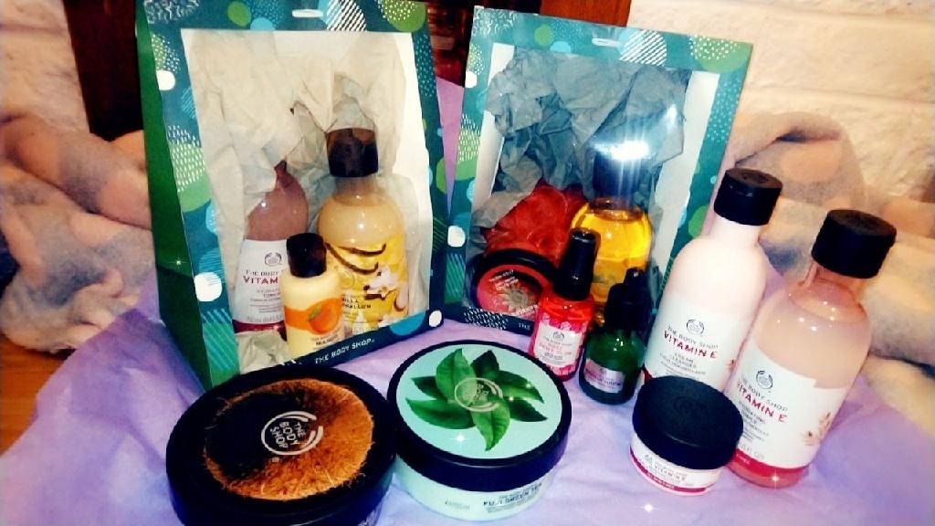 Body Shop Gift bags