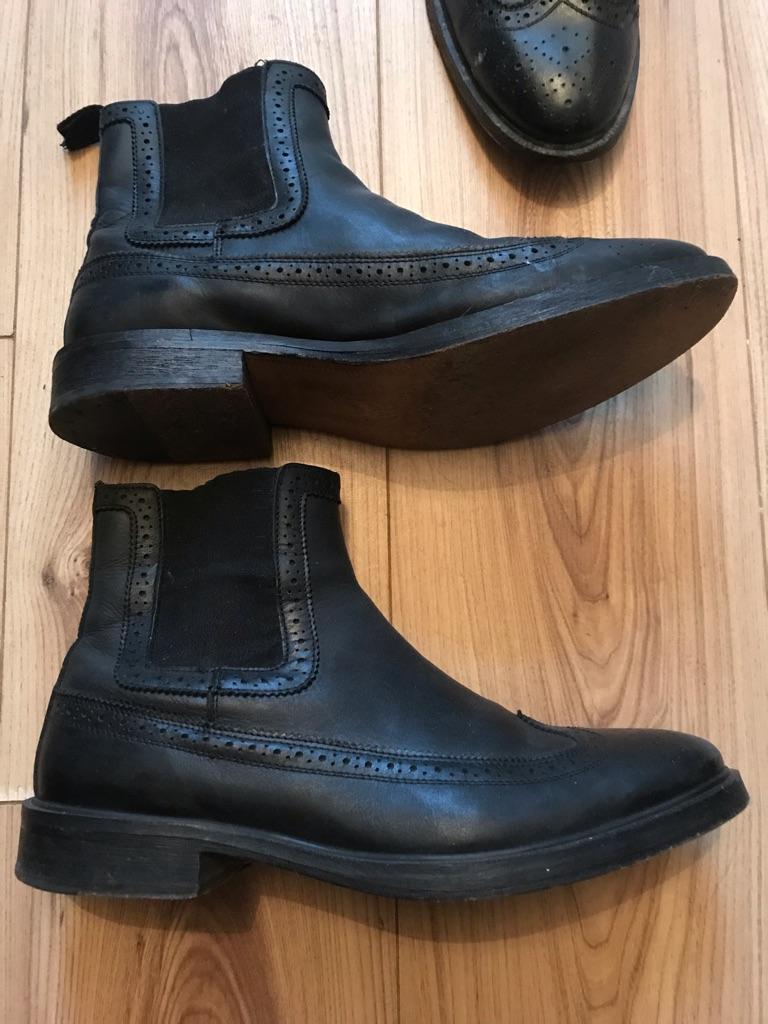 All Saints Boots Chelsea Shoes UK 10