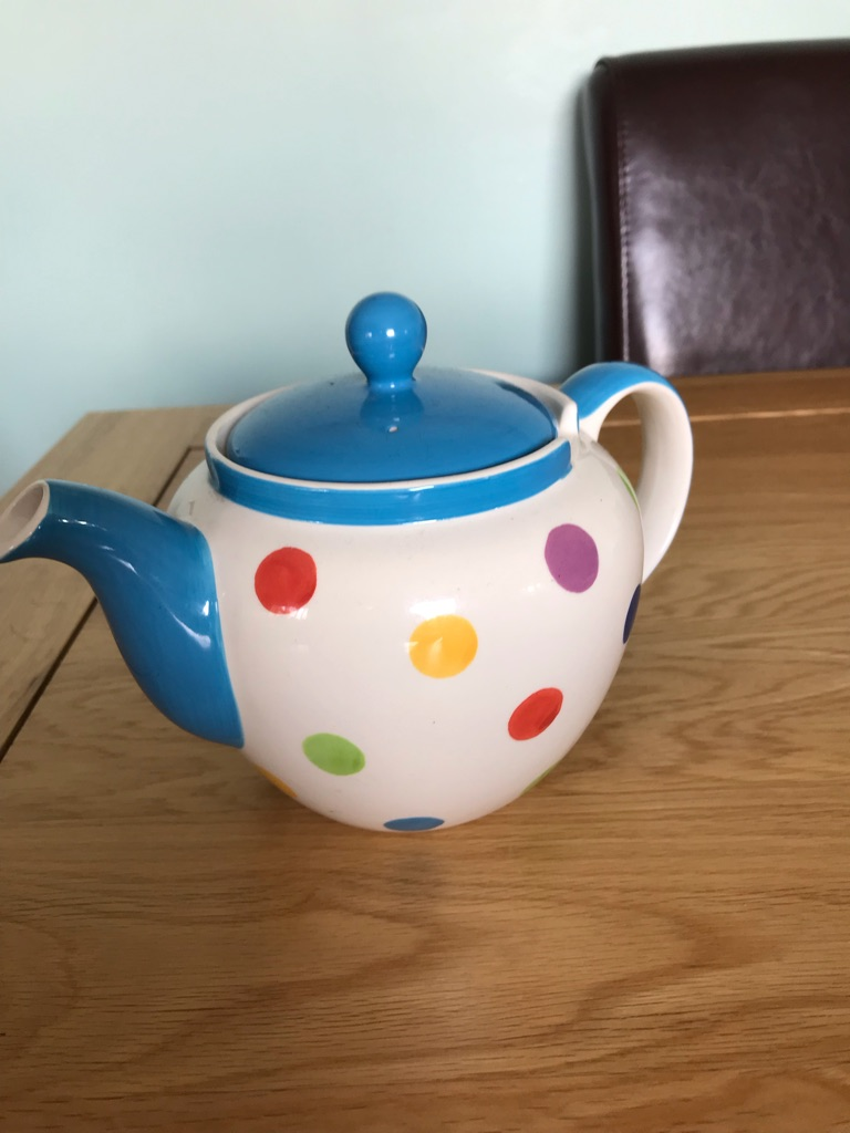Spotty teapot from Whittard of Chelsea
