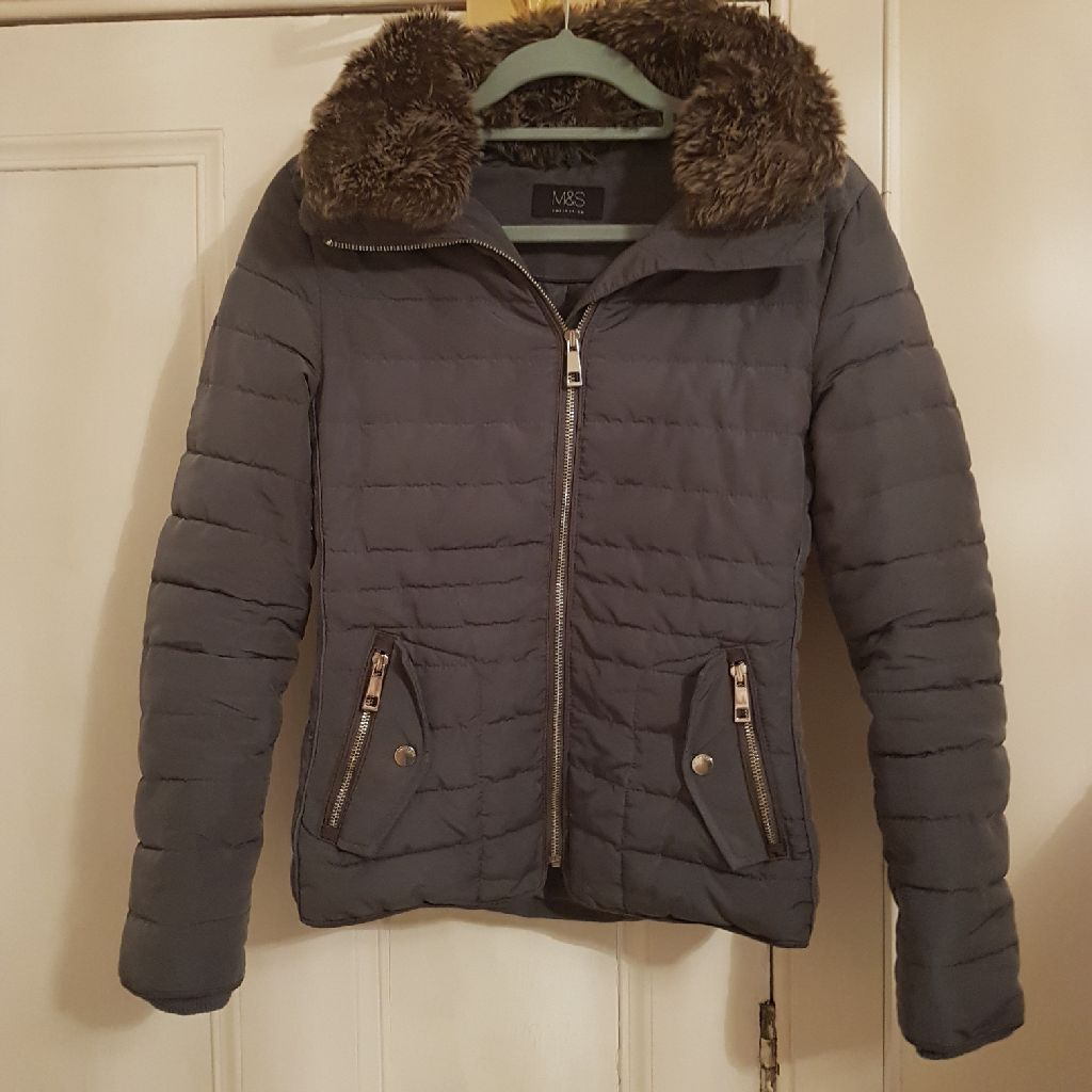 M&S blue jacket size 8
