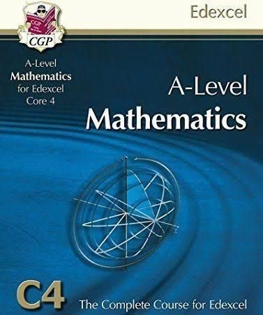 A-Level Edexcel C3 and C4 books with CD