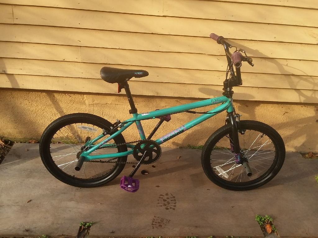 Mongoose 20inch bmx bike