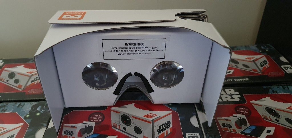 Star Wars Virtual Reality headset