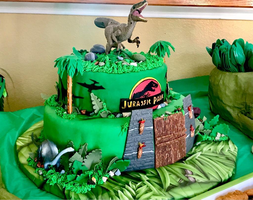 Ready to go Dinosaur Party