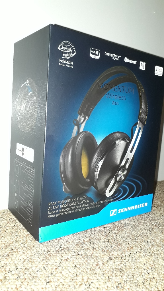 Sennheiser Momentum Wireless over ear headphones, black
