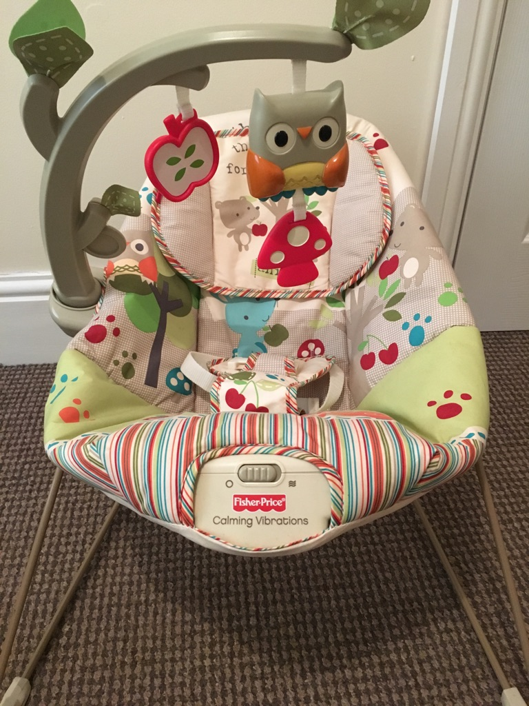 Fisher price woodsy bouncer