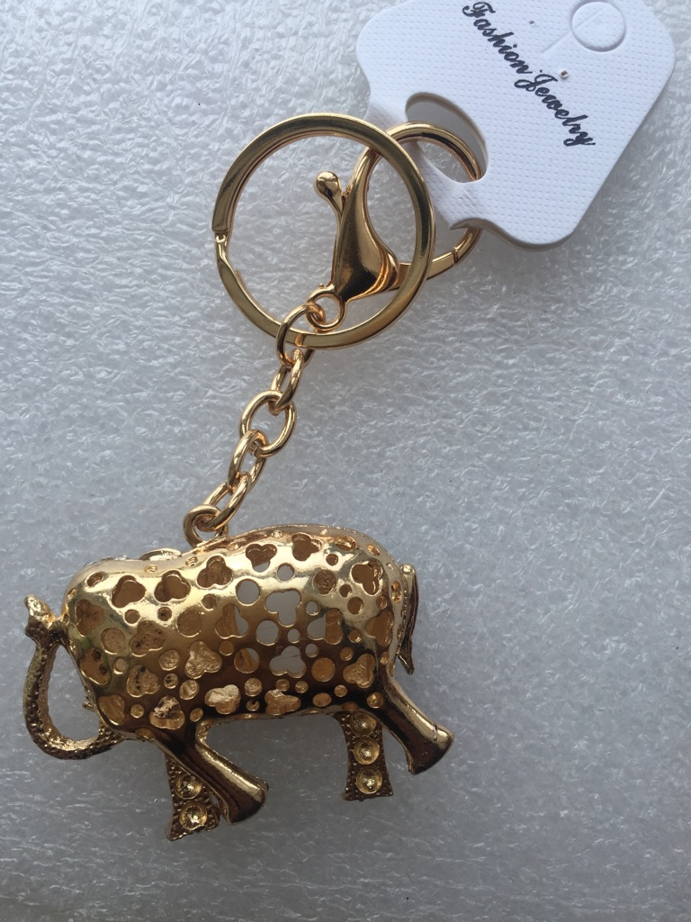 Keys ring holder with elephant **** 3
