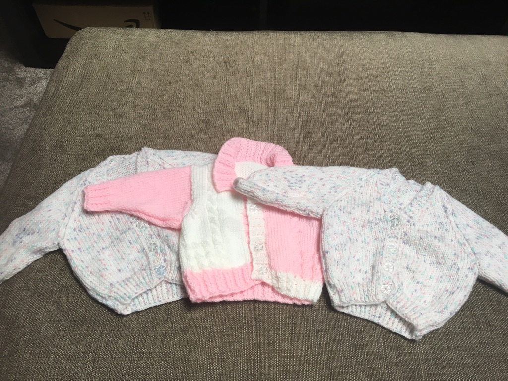 Baby girl knitted cardigans NEW
