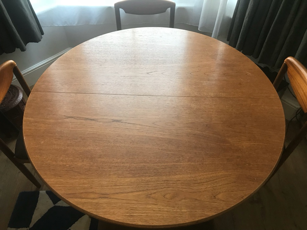 G-plan table & chairs