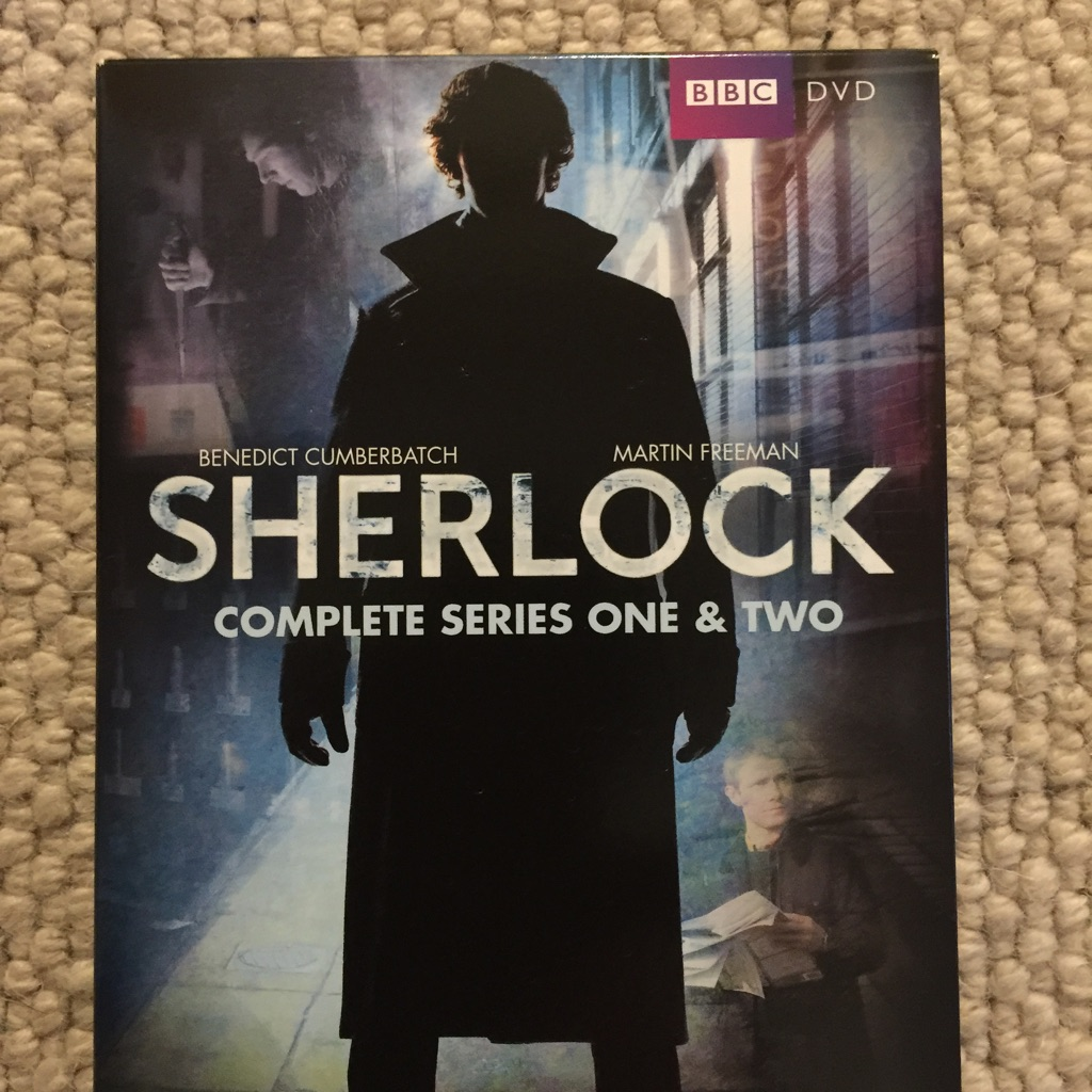 BBC DVD Sherlock Series One & Two