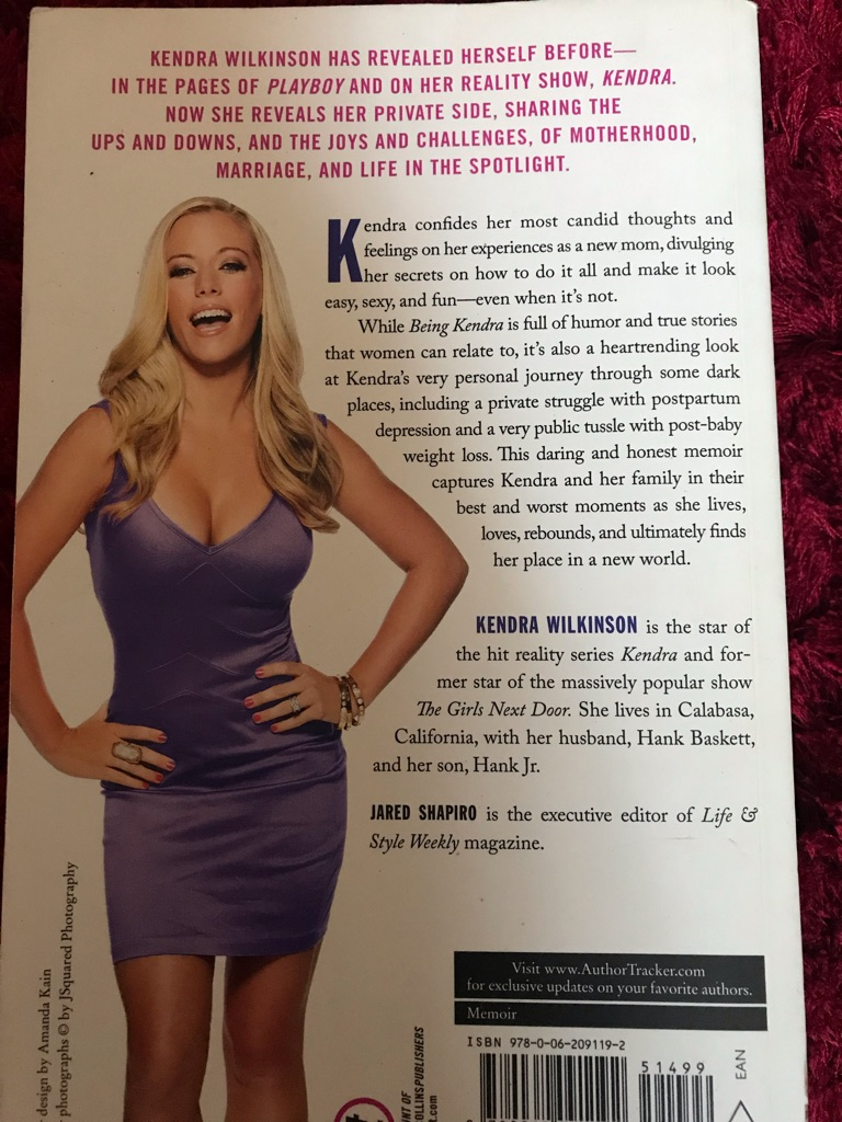Pair of books by Kendra Wilkinson