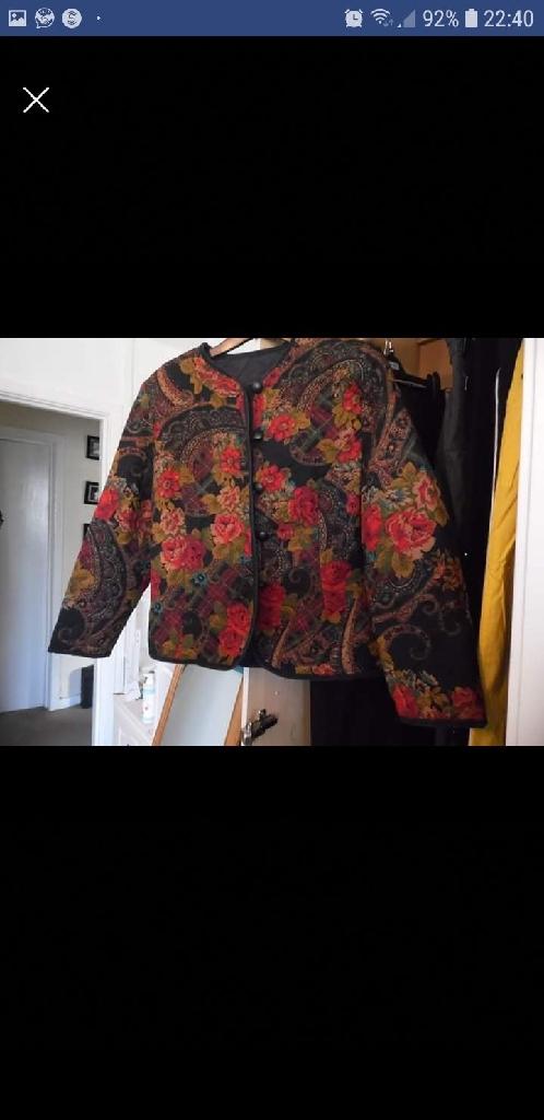 Vintage St Micheals multi coloured jacket