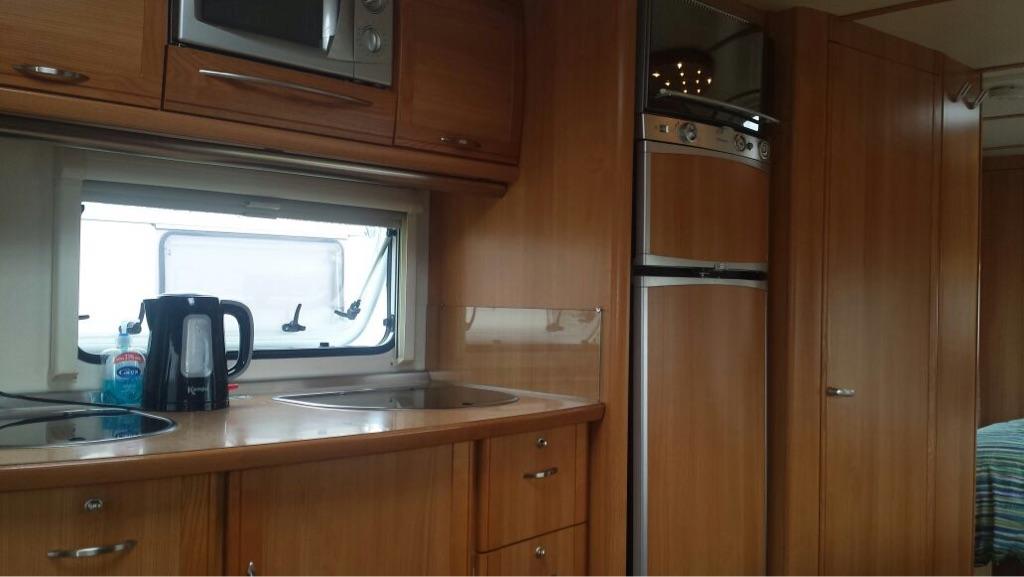 Fendt 5 berth caravan