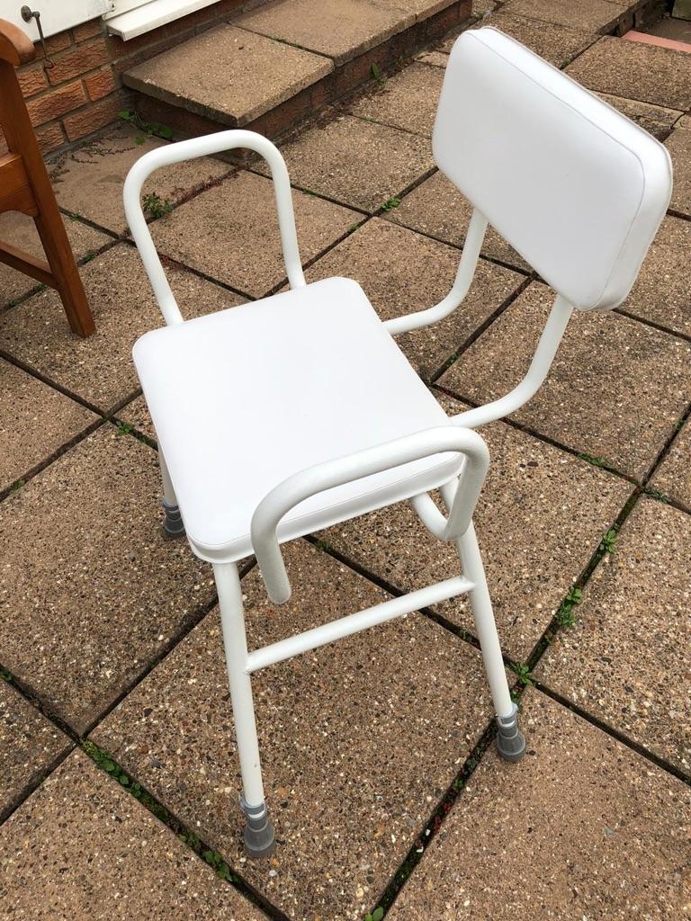 White Perching Chair