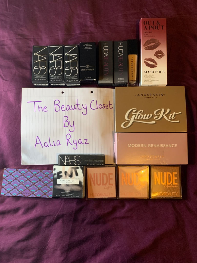 High end and drugstore makeup sale